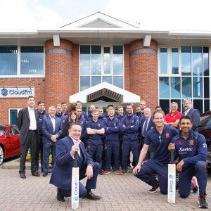 Essex Cricket Team visit Cloudfm HQ
